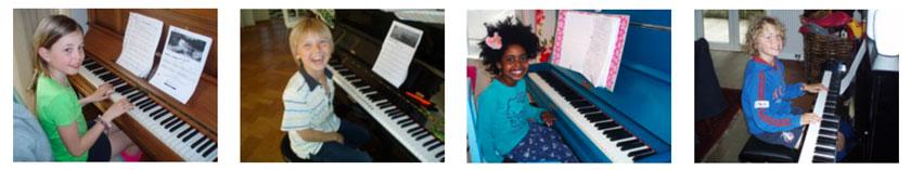 Pianoles-foto's